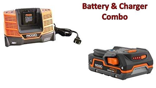 Ridgid AC840085 Hyper Li-on 1.5 Ah Battery & (1) R840093 Charger Combo # 130183001-BC-140154001