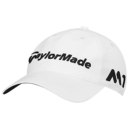 TaylorMade Golf 2017 tour litetech hat white]()