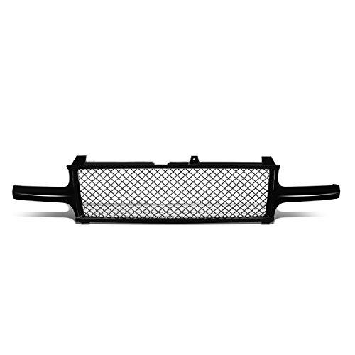 DNA Motoring GRF-001-T1-BK Badge-Less Diamond Mesh Front Bumper Grille For Silverado Tahoe Suburban