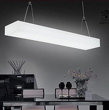 KHSKX Acrylic T5 Office Lighting Chandelier Office Room Studio Retail  Construction Hanging Lamp 94020080mm
