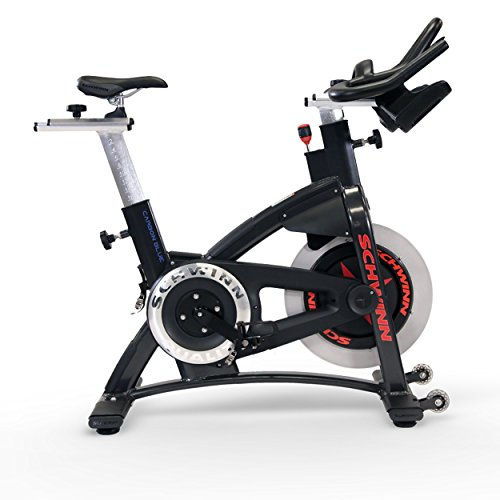 Schwinn AC Performance Plus Indoor Bike with Carbon Blue Belt Drive and Morse Taper – Quantum Silver