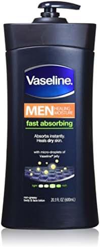 Body Lotions: Vaseline Men Fast Absorbing