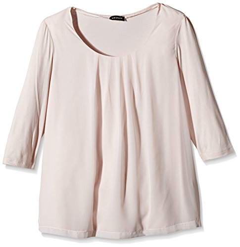 TAIFUN by Gerry Weber Casino 4 - Camiseta para mujer Rosa (Puder 30607)