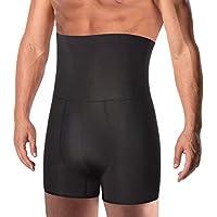 TAILONG Men Tummy Control Shorts High Waist Slimming Underwear Body Shaper Seamless Belly Girdle Boxer Briefs