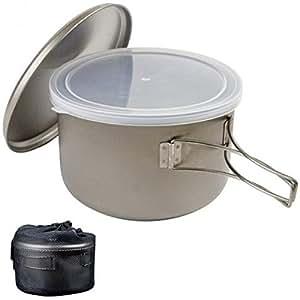Snow Peak Titanium Cook N Save Cookware
