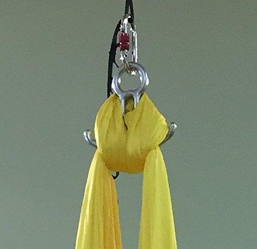 Basic Aerial Silks Hardware Kit w/ Steel Hardware by Flying Yoga