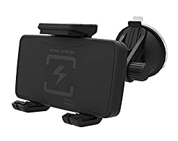 Samsung Galaxy S7 / S7 Edge, Wireless Charging Car Mount (Windshield Dashboard Compatible) ** Encased® Lifetime Warranty ** (qi Charging Dock)