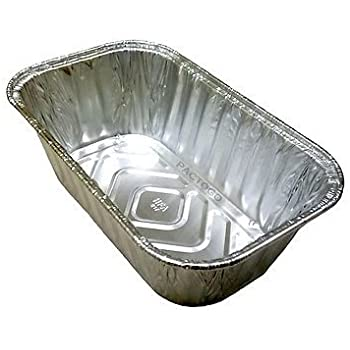Handi-Foil 1 lb. Aluminum Foil Mini-Loaf/Bread Pan - Disposable Tins (pack of 15)