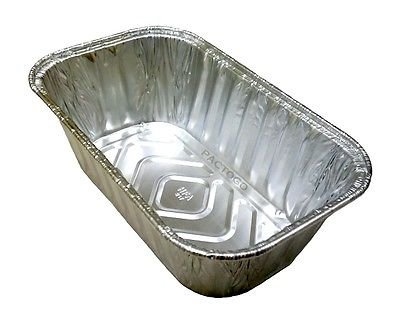 Handi-Foil 1 lb. Aluminum Foil Mini-Loaf/Bread Pan - Disposable Tins (pack of 200) by Handi-Foil (Image #4)