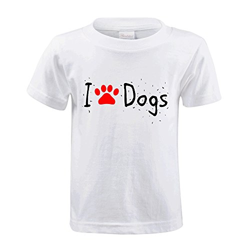 foreric-i-love-dogs-funny-tees-for-kids-white