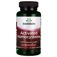 Swanson Ultra Activated Homocysteine, 60 Vegetarian Capsules