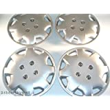 """15"""" Aftermarket ABS Plastic Wheel Cover 4 Pack Honda Accord"""