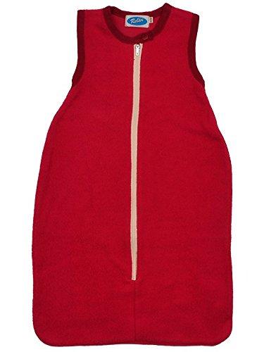 Saco de dormir algodón bio Peluche de reläx rojo rojo Talla:62/68: Amazon.es: Bebé