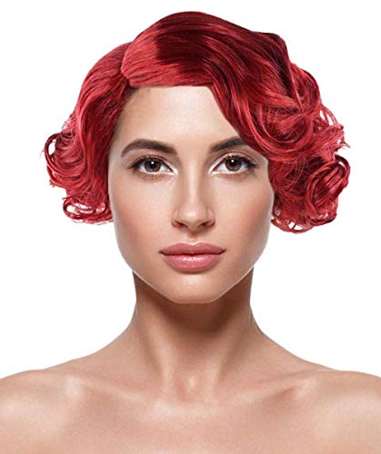French Maid Wig, Red Kids HW-1740K -