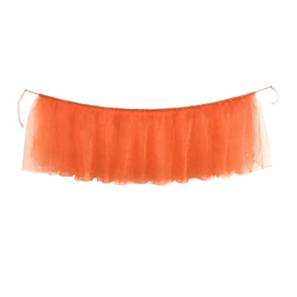 Bibao - Falda de tutú de Tul para decoración de Mesa de cumpleaños ...