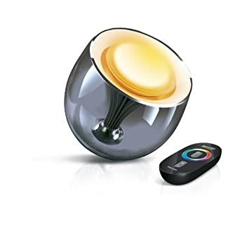 philips livingcolors gen 2 6914365pu colour changing mood lamp with remote control - Philipps Living Colors