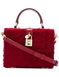 Women's BB5970AV1818B512 Red Leather Handbag