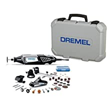 Dremel 4000-4/34 High Performance Rotary Tool Kit with Variable Speed Rotary Tool, 4 Attachments and 34 Accessories by Dremel 3D Printing