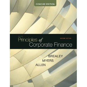 Principles of Corporate FinanceConcise 2nd Second edition byBrealey ebook