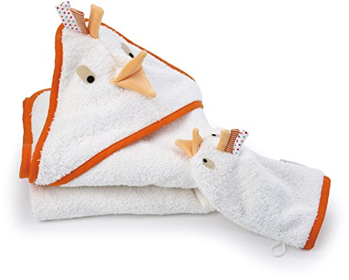 Käthe Kruse Doddy Bath Wrap Towel with Mitt