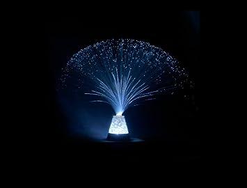 Mini Fiber Optic Light Blue Fiber Optic Lamps Amazoncom