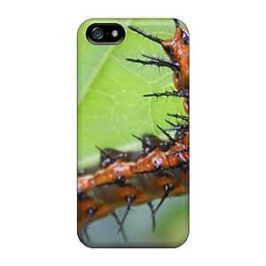 meilz aiaiExcellent Iphone 5/5s Case Tpu Cover Back Skin Protector Gulf Fritillary Caterpillarmeilz aiai