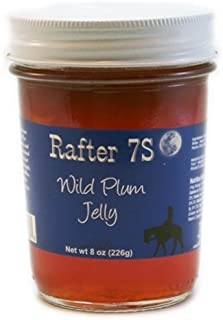 product image for Rafter 7S Wild Plum 8 oz Jelly - Gluten Free - No Preservatives - No Corn Syrup - Made with Fresh Nebraska Fruit