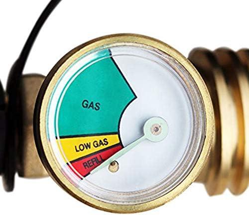 REFURBISHHOUSE Adattatore per Bombole di Gas per Bombole di Gas Propano di Sovrapressione di Sovrapressione Americana