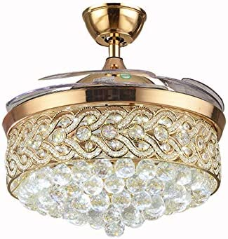 Healer 42 inch Crystal LED Ceiling Fan