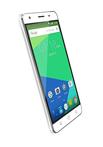 NUU Mobile N5L 5.5' HD Dual LTE SIM Android Lollipop Smartphone with 2YR Warranty, White