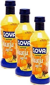 Orange Marinade 12 fl oz Bottle. Pack of 3 ()