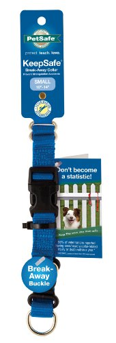 PetSafe KeepSafe  3/4-Inch Small Break-Away Dog Collar, Royal Blue