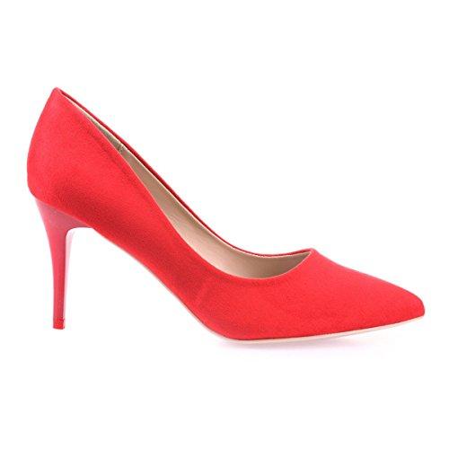 Modeuse 48240 La Rojo De Mujer Sintético Zapatos Vestir f1awz