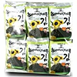 ChoripDong Korean Seaweed Snack (Kim Nori), Roasted with Sunflower oil & Sea Salted, 0.17-Ounce Bags (Pack of 12)