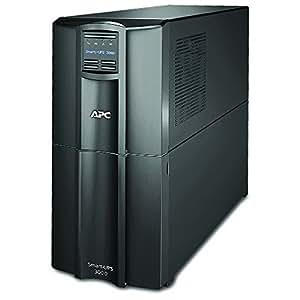 APC Smart-UPS 3000VA UPS Battery Backup with Pure Sine Wave Output (SMT3000)