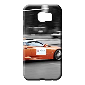 samsung galaxy s6 edge Durability Premium Protective Beautiful Piece Of Nature Cases cell phone carrying covers Aston martin Luxury car logo super
