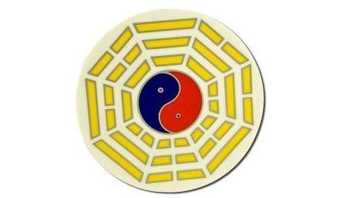 Native Visions Illuminations Dharmaseals Decals, Tai Chi