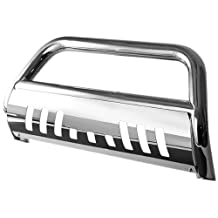 "Spyder Auto (BBR-TH-A02G1020) 3"" Polished T-304 Stainless Steel Bull Bar for Toyota Highlander"