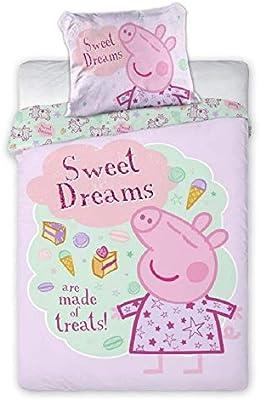 Peppa Pig Sweet Dreams - Juego de cama: Amazon.es: Bebé