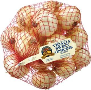 VIDALIA ONIONS FRESH PRODUCE 3 LB BAG