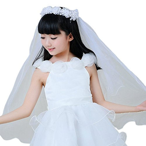 Ivory First Communion Veil - 5