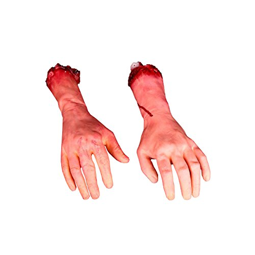 Fake Rubber Bloody Arm Body Parts Pack of
