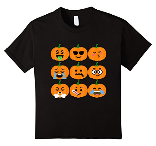 Kids Halloween Emoji T-Shirt
