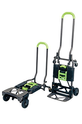 Cosco Home & Office Products Shifter, Handwagen und Sackkarre 2-in-1, 1 Stück, 12-222PBG1E