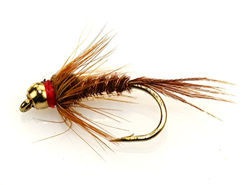 Flies Direct BH Pheasant Tail Assortment 1 Dozen Trout Fishing Flies