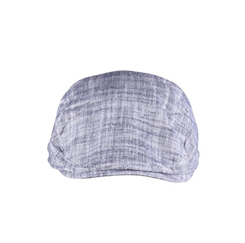 ORSKY Adult Classic Newsboy Hat Gray Flat Cap Cotton Ivy Driving Cap (Male Gatsby Attire)