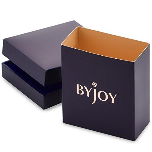 ByJoy - Collier avec Pendentif - Argent 925/1000 - Ovale - Femme