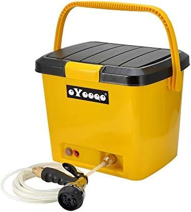 Electric Camping Car Shower Kit Water Washing Spray Pump Automobile Caravan New