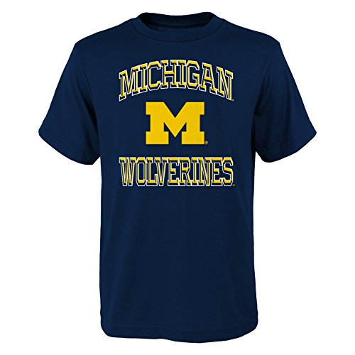 Michigan Wolverines Short Sleeve Shirt - NCAA Michigan Wolverines Children Boys