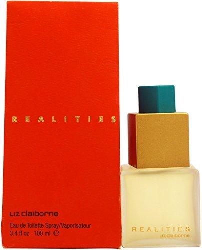 REALITIES by Liz Claiborne Eau De Toilette Spray 3.4 oz (De Vanilla Eau Toilette Peony)